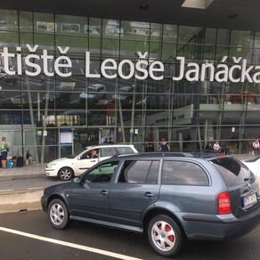 Dnešní odvoz z letiště Ostrava ✈️✈️