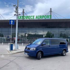 Dnes naše cesty dále pokračují na letiště Katowice