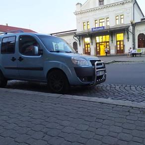 Dnešní odvoz zákazníka z vlakového nádraží Bohumín 🚊🚊🚊