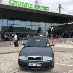 Odvoz zákazníka z Orlové na letiště Katowice