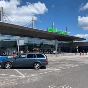 Odvoz zákazníka z Karviné na letiště Katowice