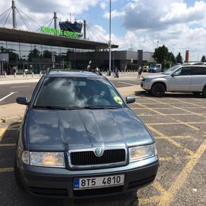 I během nedělního dne jsme měli možnost odvést zákazníky z Orlové na letiště Katowice