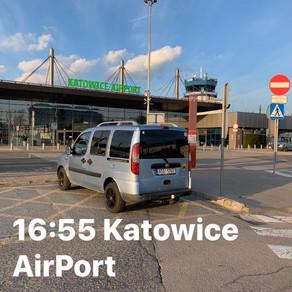 Dnešní odvoz zákazníka z Frýdku-Místku na Letiště Katovice 🚙🛫
