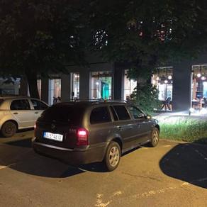 Noční odvoz zákazníků z Olomouce do Orlové.