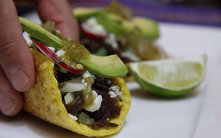 Taco Taxi Street tacos
