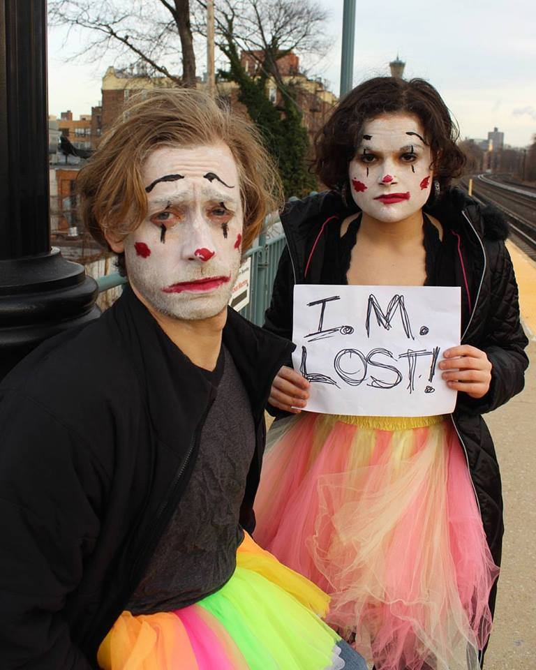 "Clown in ""I. M. LOST!"""