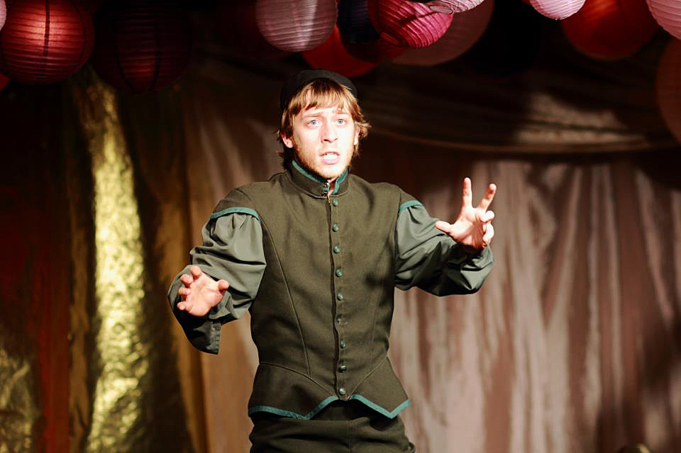 "Fabian in ""Twelfth Night"""