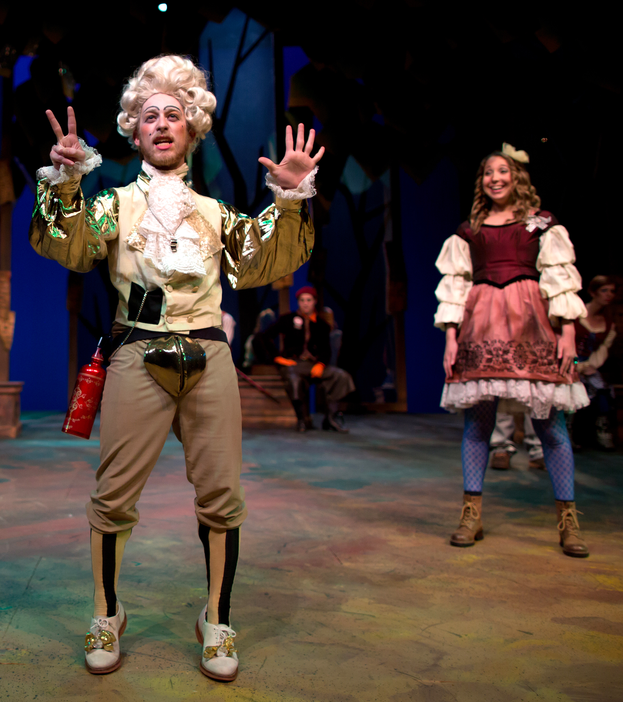 "Touchstone in ""As You Like It"""