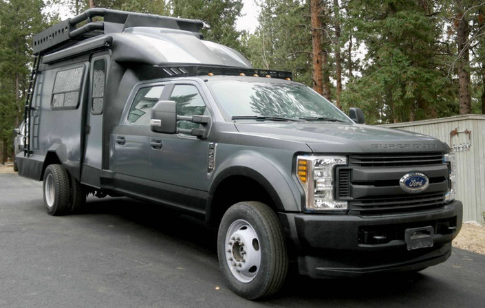 Customers Ford Camper Truck Photo