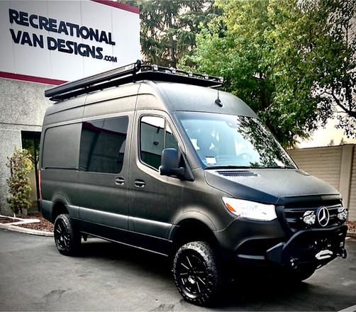 Customers Sprinter Van