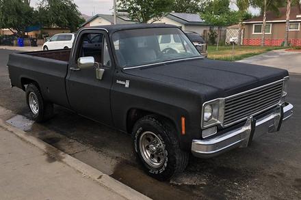 Black Scottsdale Truck