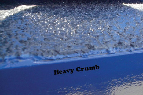 Blue Heavy Crumb Texture