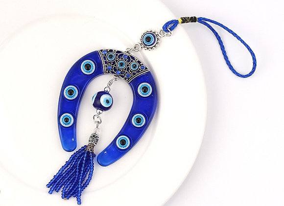 Blue Evil Eye Amulet Wall Protection Lucky Pendant