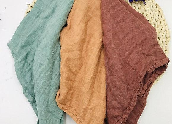 Bamboo Swaddle Muslin Wrap Blanket