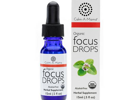 Focus Drops - USDA Organic - Pregnant or Nursing Mom & Baby Safe