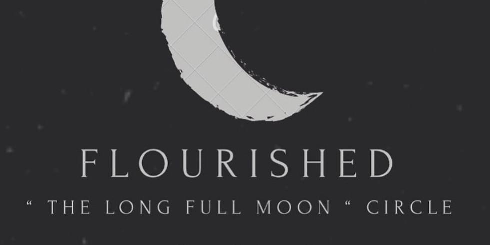FLOURISHED X FULL MOON CIRCLE
