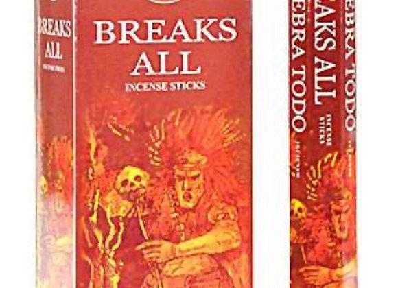 Breaks All Incense Sticks