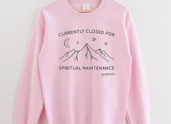 Spiritual Maintenance Sweatshirt