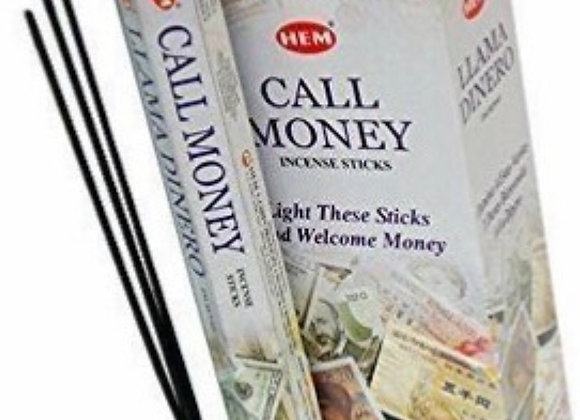 Call Money Incense Stick