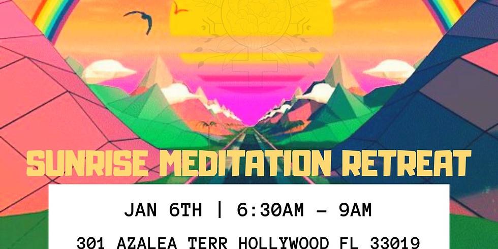 SUNRISE MEDITATION RETREAT