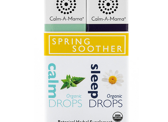 Spring Soother Duo - USDA Organic - Pregnant or Nursing Mom & Baby Safe