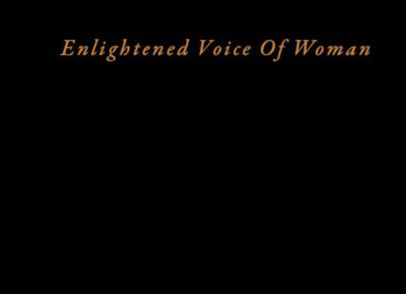 Elightened Voice Of Woman