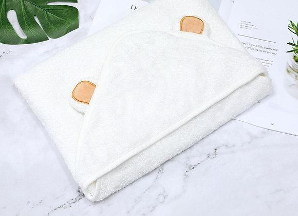 Animal Shape Hooded Baby Towel Bathrobe