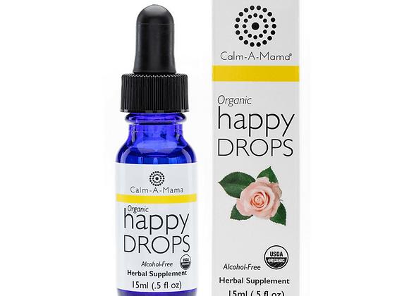 Happy Drops - USDA Organic - Pregnant or Nursing Mom & Baby Safe