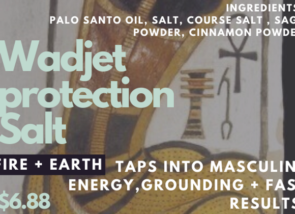 Wadjet Protection Salt Sashet
