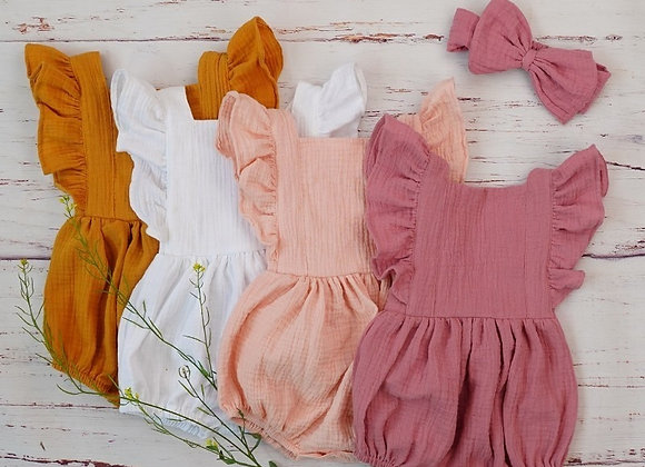 Organic Cotton Baby Girl Clothes for Newborn 3M