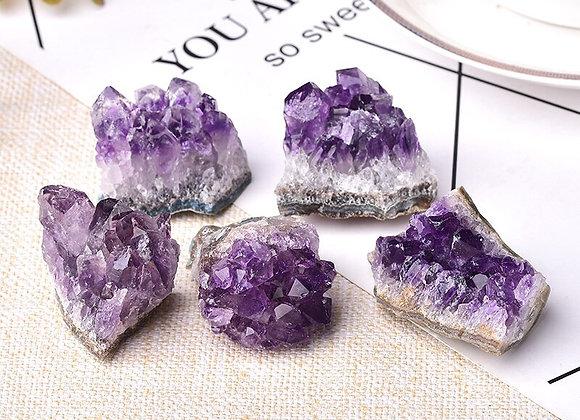1pcs  Amethyst Crystal Cluster Quartz Raw