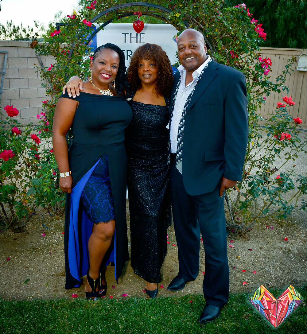 My mother, stepfather and I