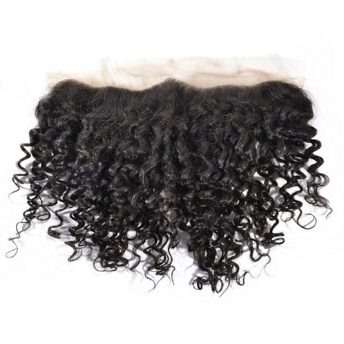 Burmese Curly Lace Frontal