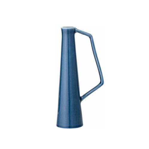 Soliflore bleu en céramique