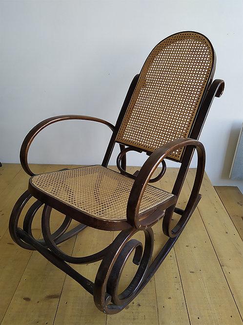 Rocking chair bohème
