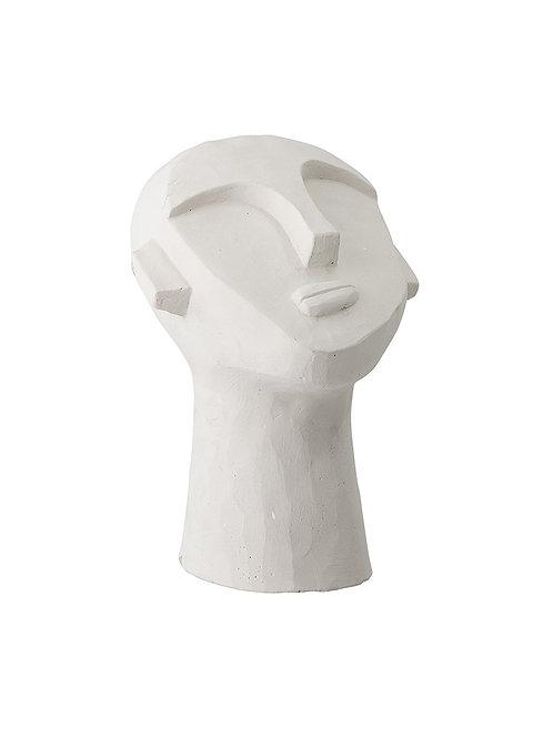 Sculpture visage plâtre