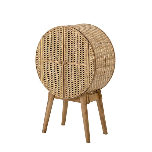 Meuble rond cannage Otto