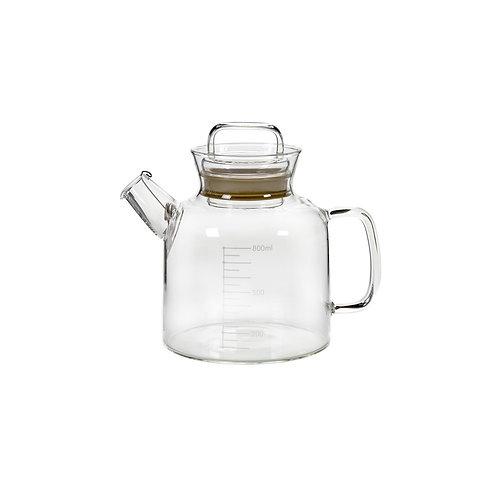 Théière en verre Labo