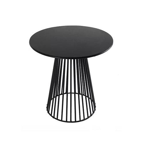 Petite table métal noir