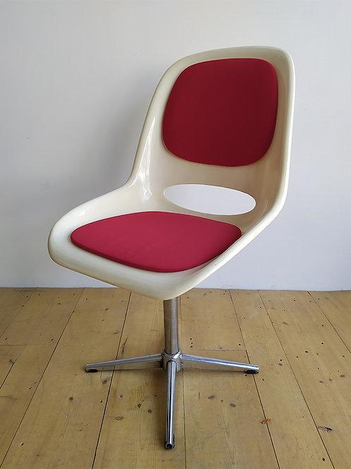 Chaise Pivotante vintage 70's