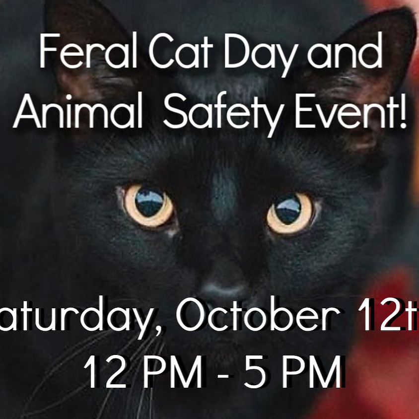 Feral Cat Day and Animal Safety Event
