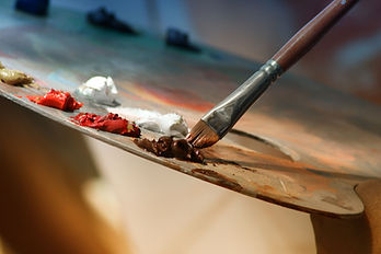 Atelier de peinture à l'huile