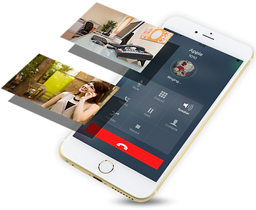mobile phone application for remote workers