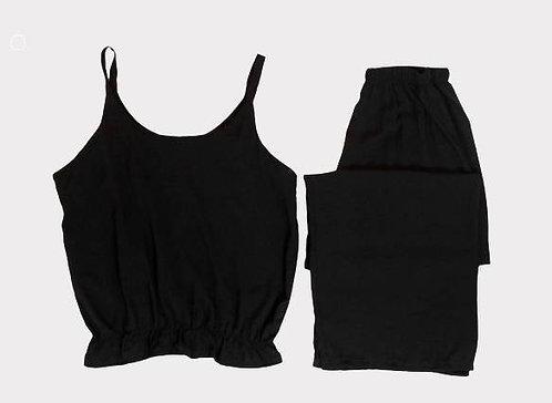 Lightweight woven elastic waist set