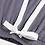 Thumbnail: Charcoal Gray Bamboo Viscose Cotton Pajama Set