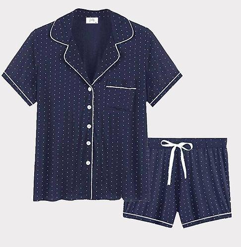 Polka Dot Shorts Set