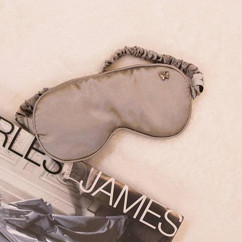 Silver Gray Sleep Mask