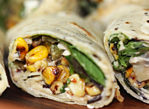    Let's Spice Up The Wrap With Chickpea Hummus!