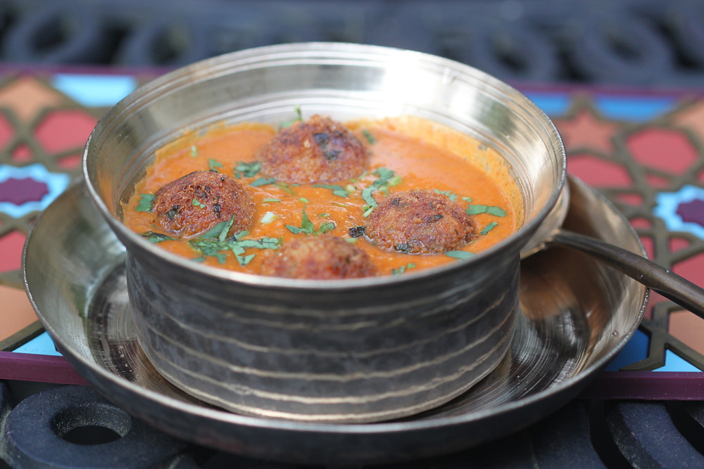 Quinoa Paneer Kofta in Red Gravy