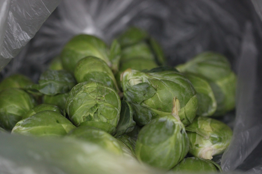 Brussel Sprouts- fresh from the farmers' market